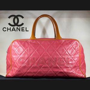 ♦️HOLIDAY♦️ CHANEL Caviar Leather Matrasse Handbag